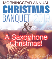 Annual Christmas Banquet and Saxaphone Christmas