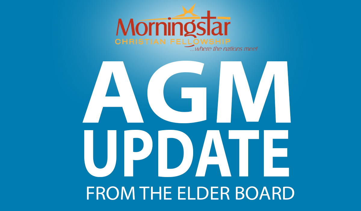 AGM Update from the Elder Board